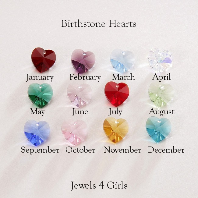 Birthstone Necklace For Sister Jewels 4 Girls